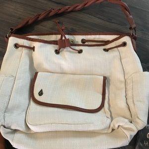 Handbags - Volcom linen handbag